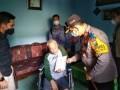 2 Warga Desa Simpang Kopi Dapat Bantuan Kursi Roda Dari Kapolres Batubara