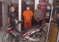 Curi motor, Pria Pengangguran Diciduk Polsek Hilir
